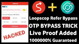 UNLIMITED TRICK !! Lopscoop App Refer Bypass !! With Otp Bypass !! Live Proof