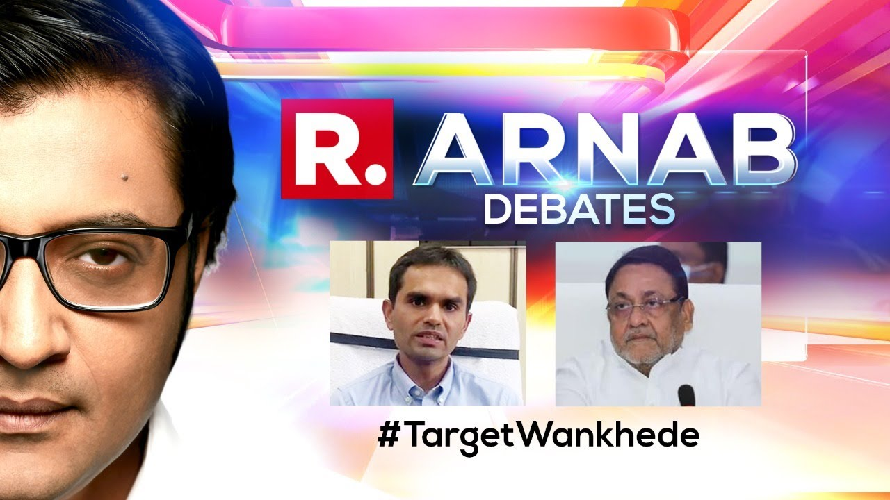 Download 'Target Sameer Wankhede' A Ploy To Slow Down Drugs Probe? | The Debate With Arnab Goswami