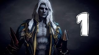 Castlevania Lords Of Shadow 2 Revelations прохождение серия 1 (Алукард)