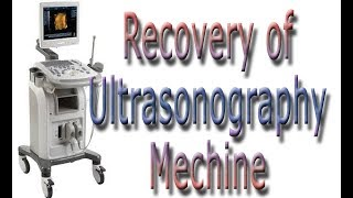 How to Recovery Ultrasono Machine Zoncare 9902| Easy - Portable Ultrasound Tutorial for Arm Recovery