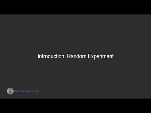 Probabilistic Analysis - Lecture 01 (IE 523)
