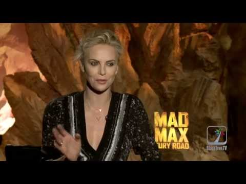 Charlize Theron Interview for Mad Max: Fury Road
