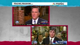 Maddow Equates Bret Baier With Sean Hannity