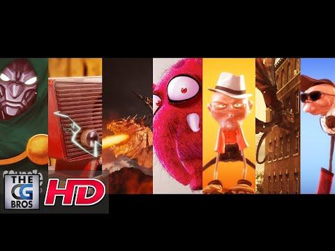 "CGI & VFX Showreels HD: ""Squeeze Studio"""