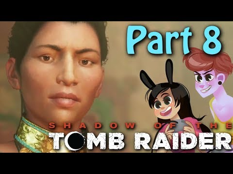 Wind Puzzle - Shadow Of The Tomb Raider Gameplay Part 8 (2 Girls 1 Let's Play)