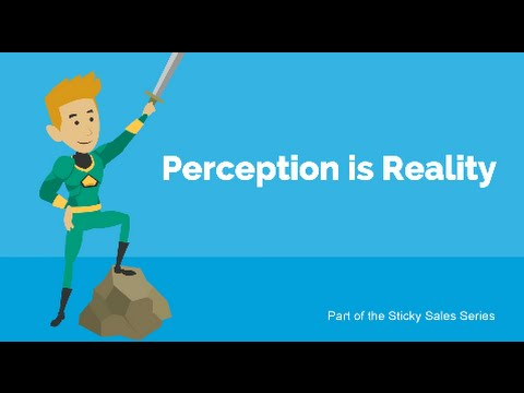 Free Sales Training Video: Your Perception is Your Reality