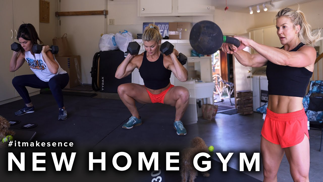 BROOKE ENCE VLOGS | Breaking In The New Home Gym!!