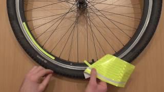 видео Наклейки на велосипед