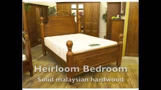 Solid Wood Bedroom Furniture Ranges