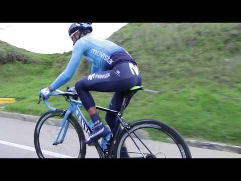 Entrenamiento de Nairo Quintana en Colombia previo al Tour