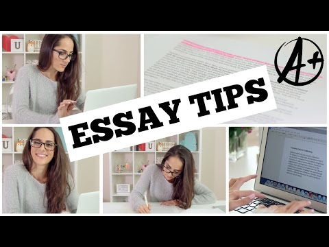 Improve Your Writing Skills! -Study Tips for Writing Better Essays + DIY Organization-