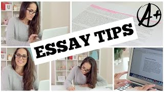 Improve Your Writing Skills! |Study Tips for Writing Better Essays + DIY Organization|