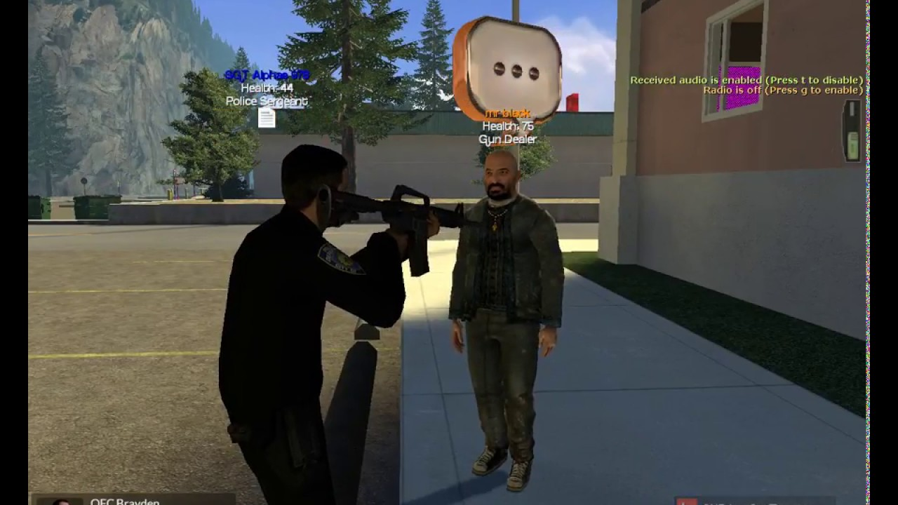 Garry's Mod PoliceRP Gaminglight