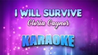 Gloria Gaynor - I Will Survive (Karaoke version with Lyrics)