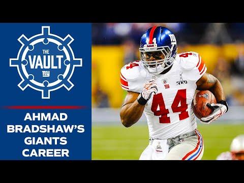 Relive Ahmad Bradshaw's 2x Super Bowl Champion Giants Career | New York Giants