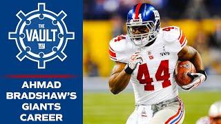 Relive Ahmad Bradshaw's 2x Super Bowl Champion Giants Career   New York Giants