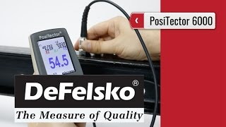 PosiTector 6000 - Coating Thickness Gauge (product video presentation)(More info on http://www.processinstruments.ca/store/thickness-meters/positector-6000-coating-thickness-gauges.htm .Purchase PosiTector 6000 or other ..., 2016-03-24T00:40:31.000Z)