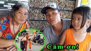 Đi tìm và trao quà từ thiện cho 2 bà cháu bệnh tật tội nghiệp sống lang thang ở Sài Gòn - Guufood