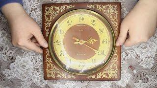видео Кварцевые часы, устройство, ремонт