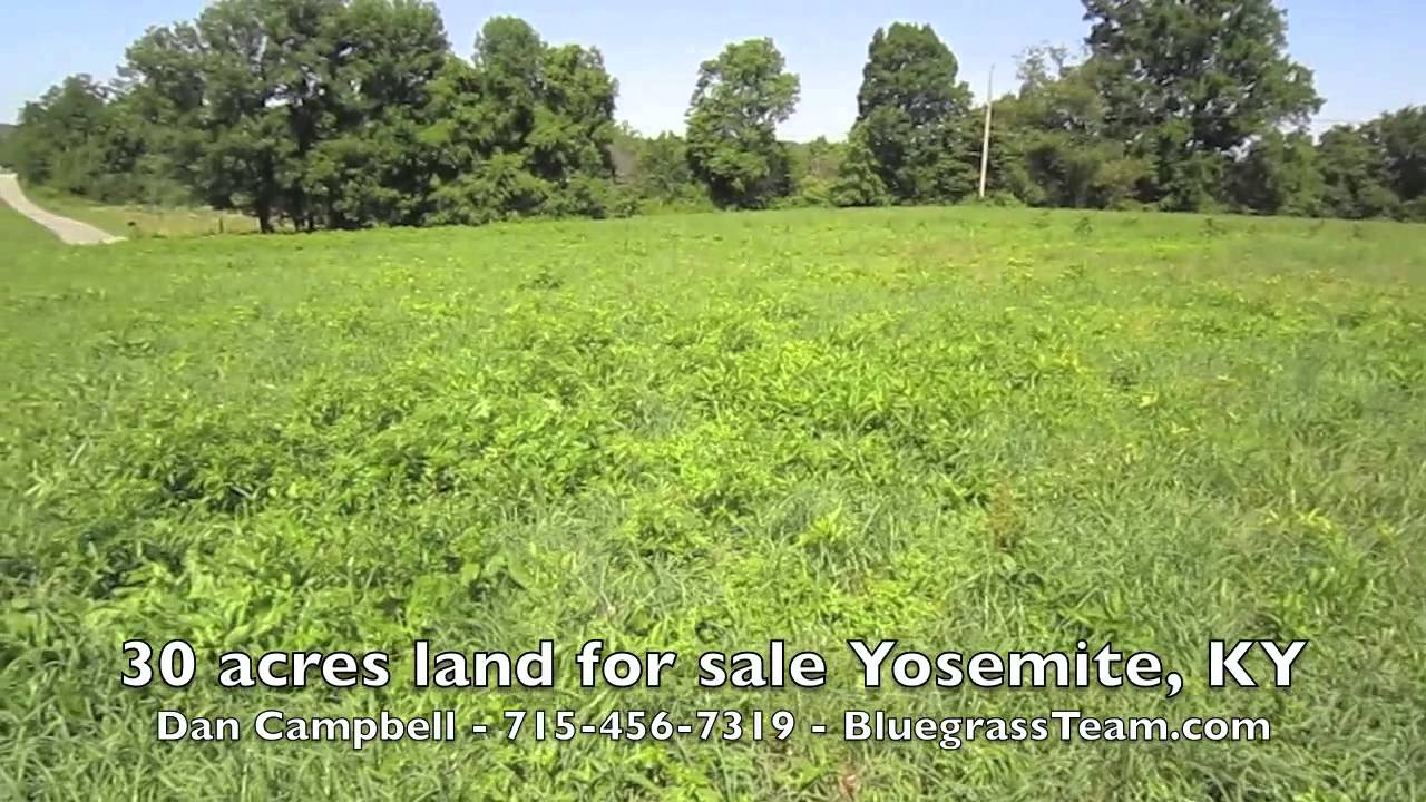 Building Lot or Weekend Getaway for sale in Yosemite, KY - VIDEO