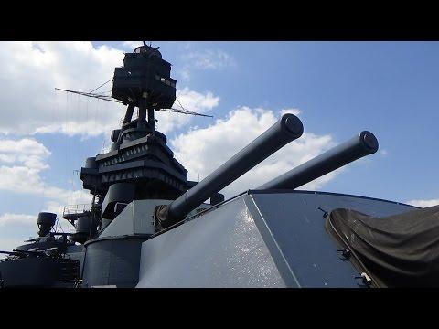 GoPro Battleship Texas BB35 - World War I & II