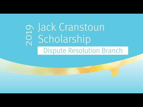 Michael Lucas, 2018 Jack Cranstoun Scholarship recipient