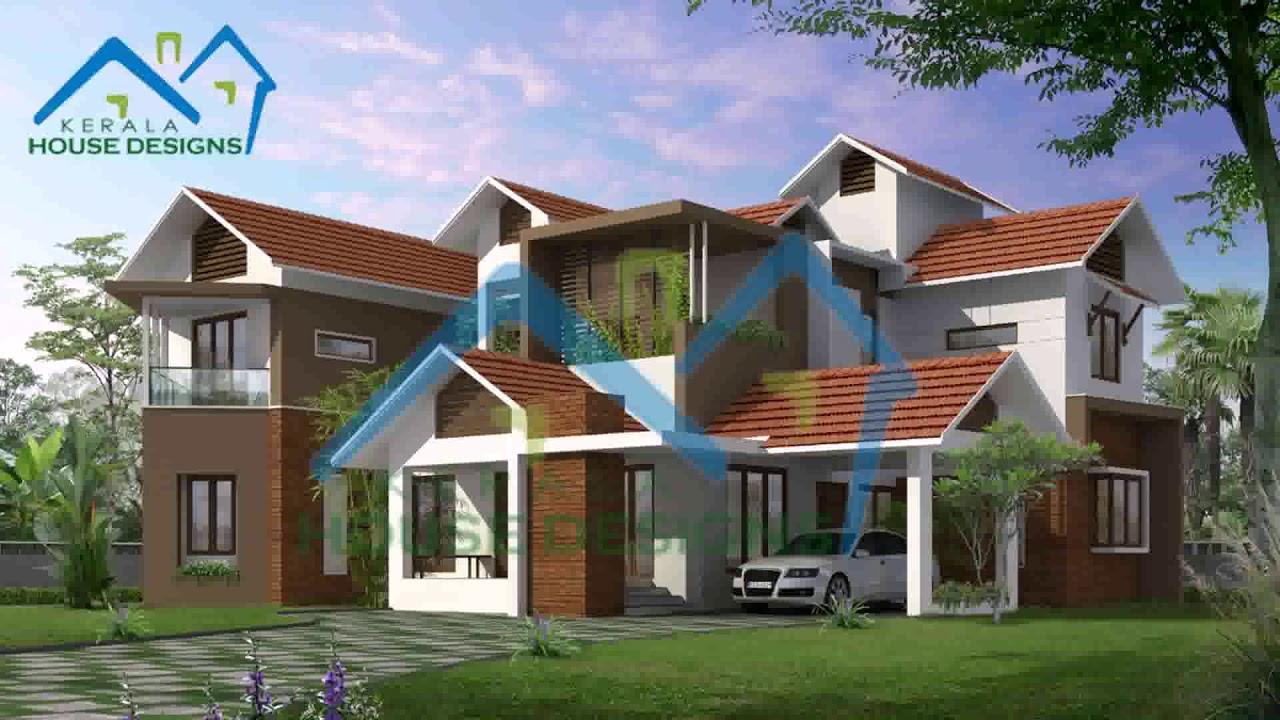 Kerala Style Home Exterior Design Youtube