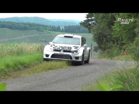 Tests Day Volkswagen Motorsport - Sébastien Ogier [HD] Rallye-Addict.com