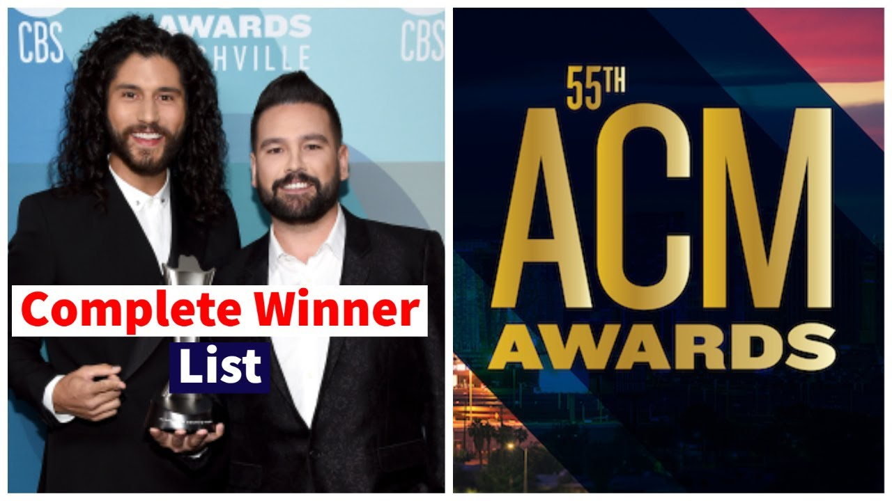 ACM Awards 2020: List of winners