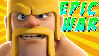 Clash of Clans - EPIC CLAN WAR ATTACKS | Double Clan XP!