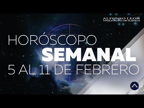 HORÓSCOPO SEMANAL | 5 AL 11 DE FEBRERO  | ALFONSO LEÓN ARQUITECTO DE SUEÑOS