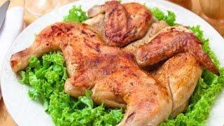 Цыпленок табака в духовке. Цыпленок тапака. Жареный цыпленок рецепт. Курица в духовке целиком.