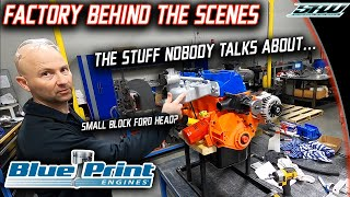 BluePrint Engines Factory Full Tour & Behind The Scenes: Engineering Dept and R&D Zone! (Its Wild)
