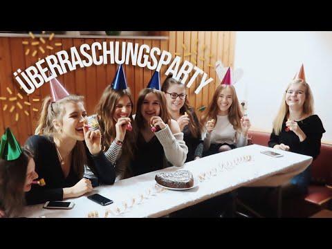 Wir ÜBERRASCHEN unsere Freundin zum 18ten Vlog //Hannah