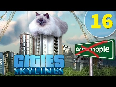 Cities Skylines [16] Friendly Woodland Creatures Lumber Co.