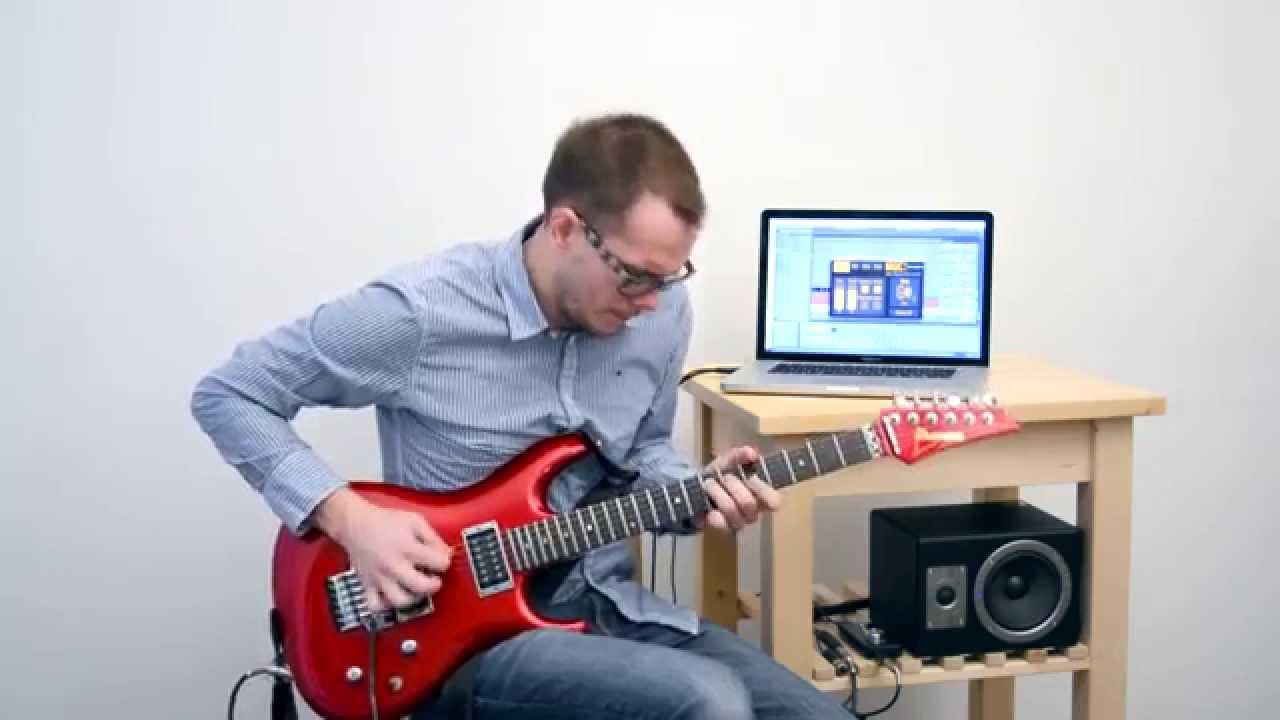 Realtime Guitar To Midi | MiGiC - Live Demo