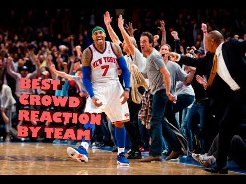 Thumbnail: NBA Greatest Crowd Reaction By Team