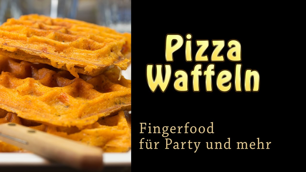 pizza waffeln fingerfood schnell gemacht youtube. Black Bedroom Furniture Sets. Home Design Ideas
