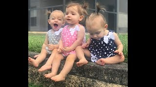 A Day In The Life With Triplets!