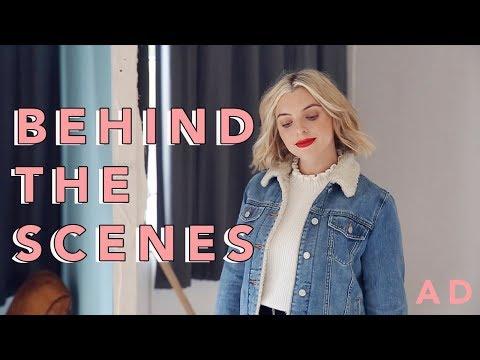 COME WITH ME BEHIND THE SCENES! | Estée Lalonde