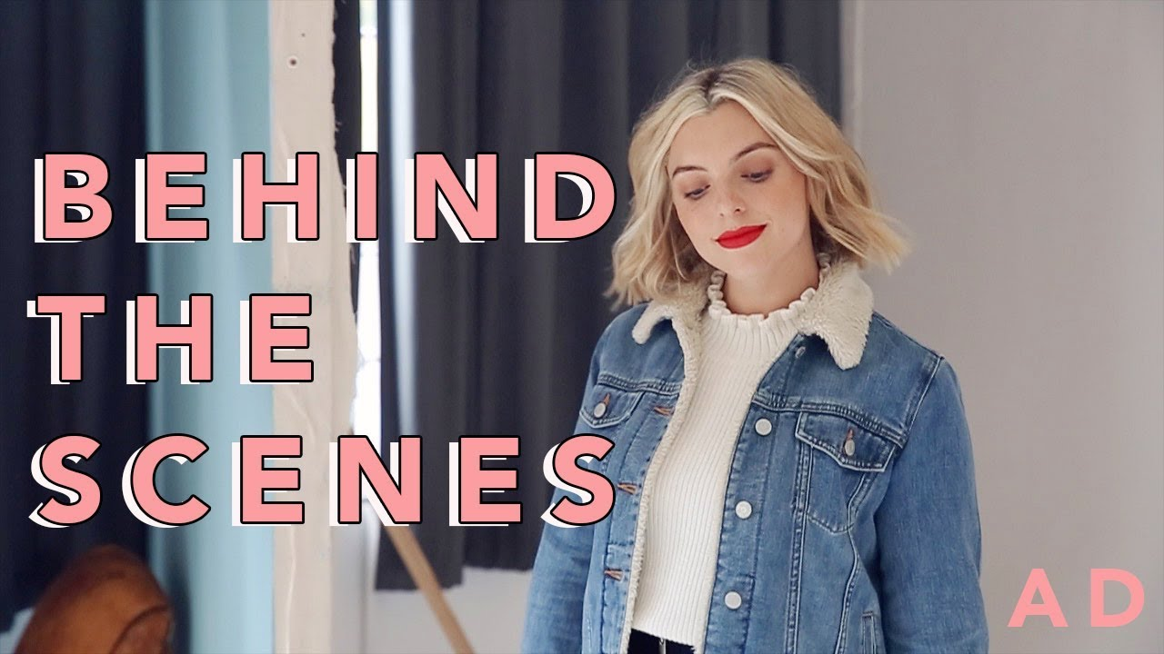 Come With Me Behind The Scenes Estee Lalonde Youtube