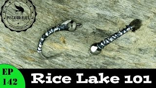 Tying a Rice Lake 101 Chironomid Fly Pattern- Ep142 PF #PiscatorFlies