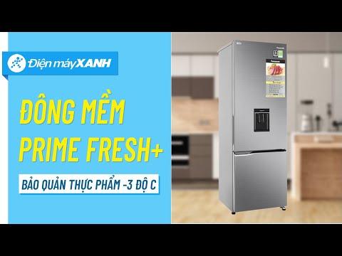 Tủ lạnh Panasonic 322 lít: siêu tiết kiệm điện, có lấy nước ngoài (NR-BV360WSVN) • Điện máy XANH