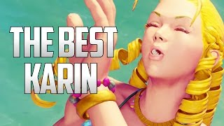 SFV ▰ The Best Karin Player Feat. Mago【1080p60 High Level Matches】Street Fighter V / 5 マゴ