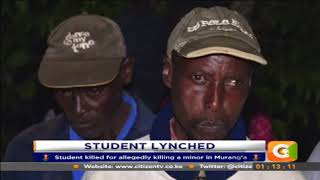 Student accused of defiling and killing a 5 year-old girl
