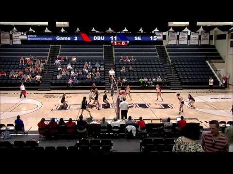 DBU Volleyball Highlights vs. Southeastern Oklahoma State