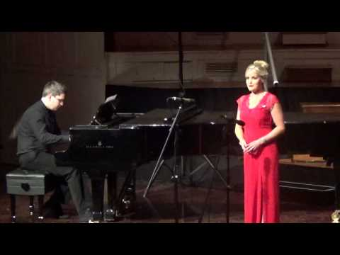 Sophie Morris Soprano and Simon Mace - O for the wings of a dove