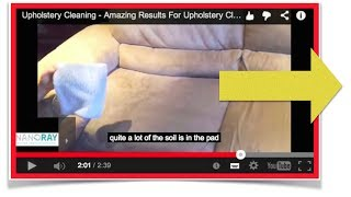 Upholstery Cleaning - Amazing Results For Upholstery Cleaning