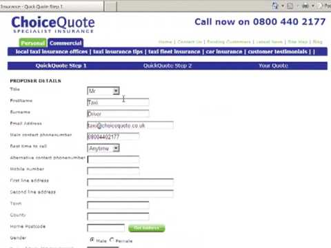 How To Get A Quote For Taxi Insurance Online