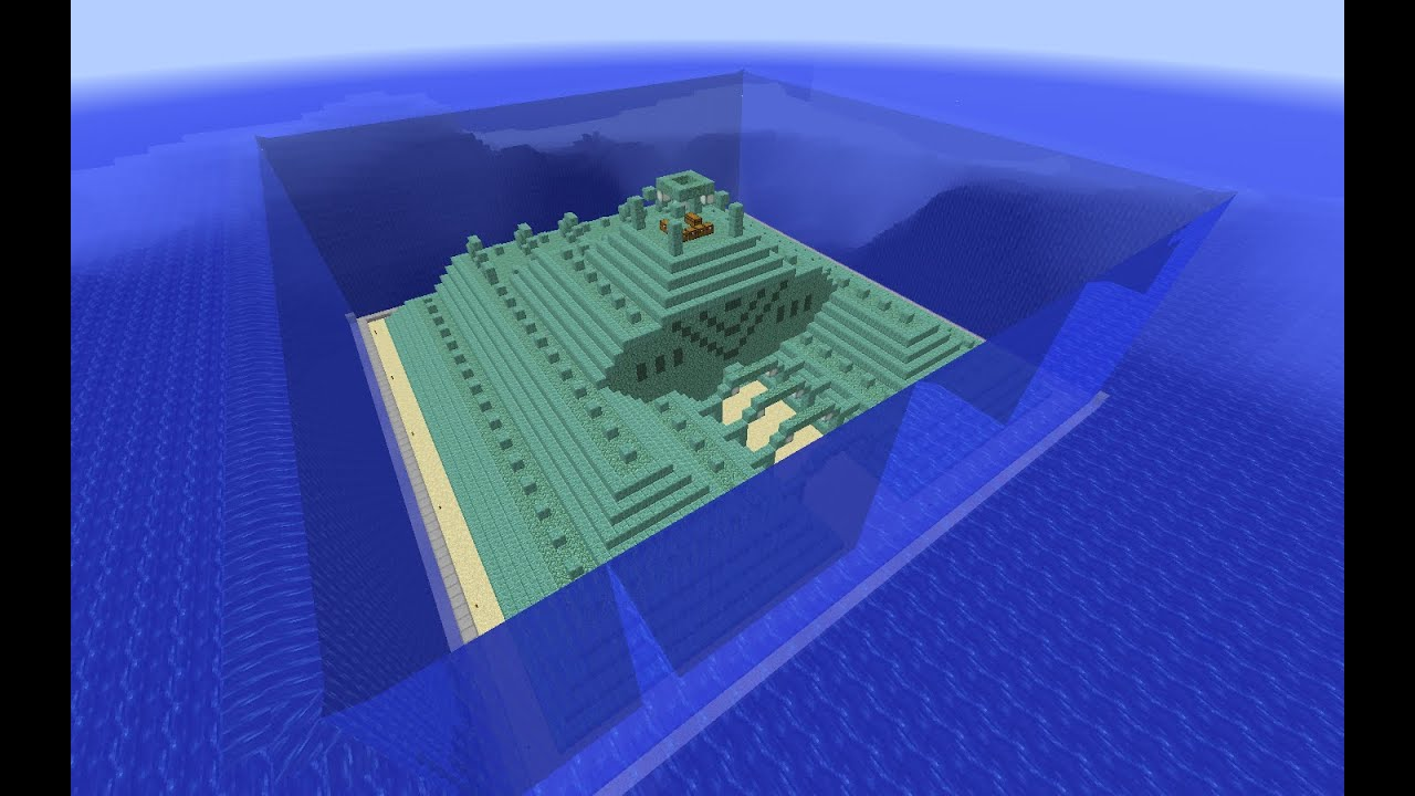 Minecraft Ocean Monument Part 20 Draining The Water From
